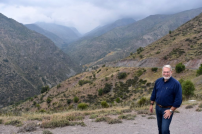 Phil in the Andes Mountains