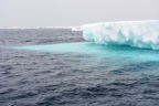 Like the blue ice shelf under the water?