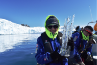 And the trophy for Ms. Antarctica goes to...