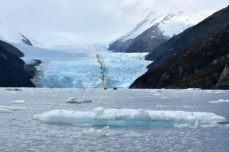 The Garibaldi Glacier in southern Chile