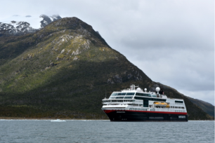 Our ship, Hurtigruten's Midnatsol