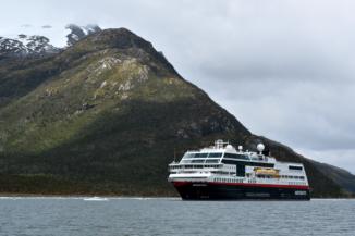 Our ship, Hurtigruten's Midnatsol