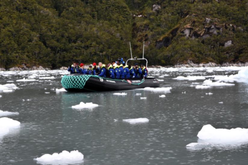 Friday, November 25, 2016: Garibaldi Fjord, Beagle Channel,Chile…