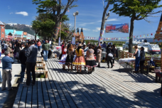 The festival celebrating the 60th anniversary of Puerto Williams, Chile