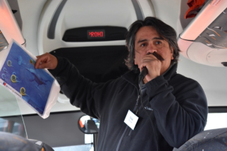 Our Chilean guide in Punta Arenas was very knowledgeable