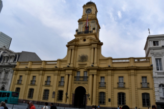 One of the many public building sitting on the Plaza de Armas, the real heart of Santiago