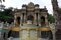 This entrance to the park on Santa Lucia hill was completed in 1902