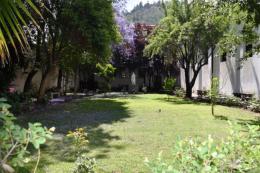 One of many parks around Santiago