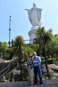 Carol & Phil on San Cristobal Hill