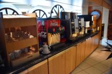 Liquid refreshment center for the Grill