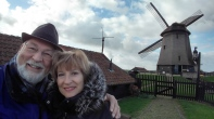 Phil & Carol in the Dutch countryside outside of Amsterdam