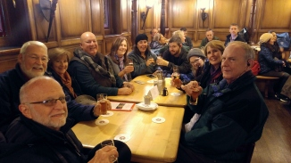 Our gang at one of the Brewhouses in Cologne