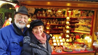 Phil & Carol in the Christmas Markets in Bamberg, Germany