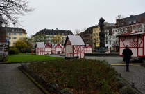 All around town we see the Christmas Markets being set up