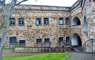 Part of the old Prussian fortress