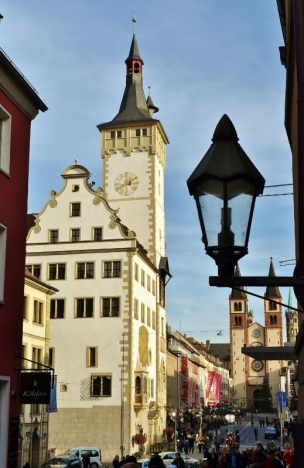 Wurzburg is a quaint old town with many opportunities for a great photo