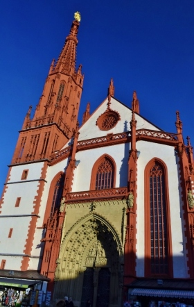 The cathedral in Wurzburg
