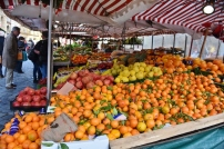 The local fruit market was open and did it ever look good. All kinds of things available.