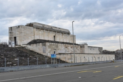 The Reviewing stands at the Nuremberg Nazi parade grounds where Hitler would hold his rallies