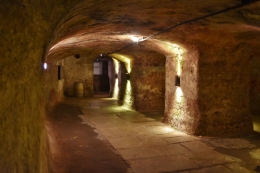 Some of the miles of beer cellars