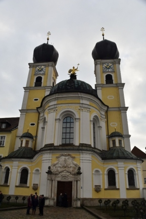 The Church of St. Catherine in Deggendorf is a great example of Baroque architecture