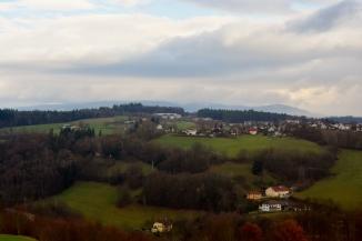 Overlooking the hillside in Bavaria
